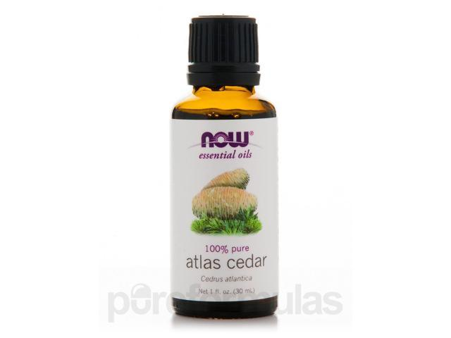 NOW Essential Oils - Atlas Cedar Oil - 1 fl. oz (30 ml) by NOW