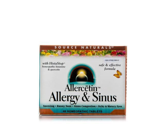Allercetin - 48 Tablets by Source Naturals