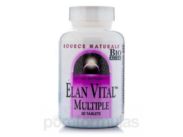 Elan Vital - 30 Tablets by Source Naturals