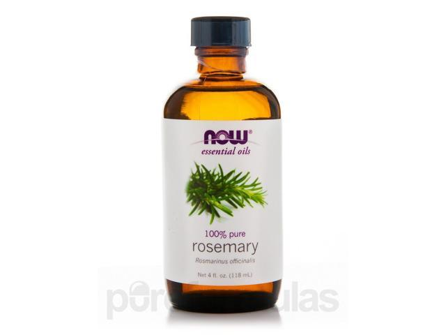 NOW Essential Oils - Rosemary Oil - 4 fl. oz (118 ml) by NOW