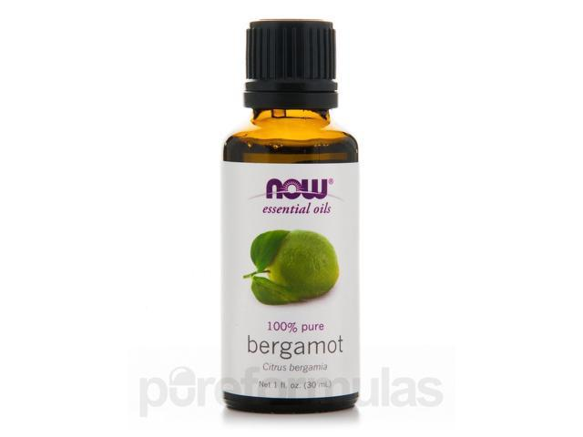 NOW Essential Oils - Bergamot Oil - 1 fl. oz (30 ml) by NOW