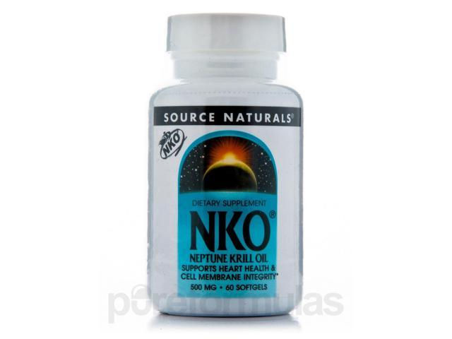 Neptune Krill Oil 500 mg - 60 Softgels by Source Naturals