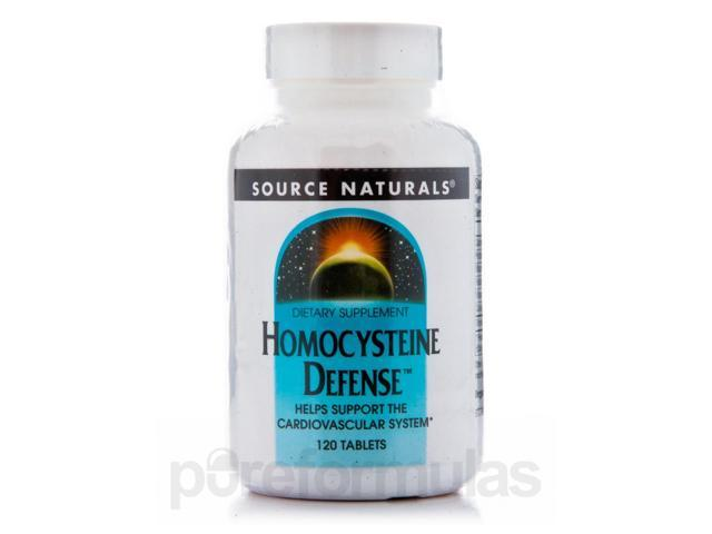 Homocysteine Defense - 120 Tablets by Source Naturals