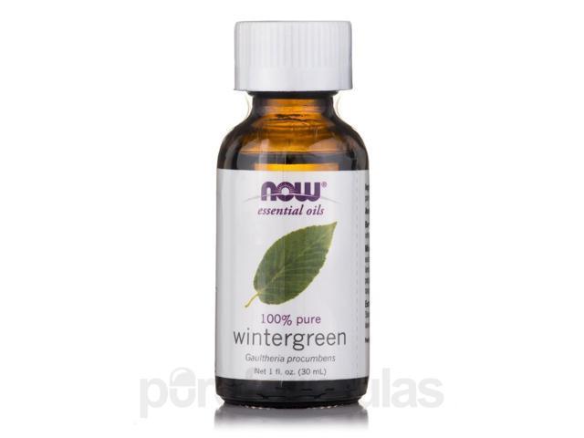 NOW? Essential Oils - Wintergreen Oil - 1 fl. oz (30 ml) by NOW