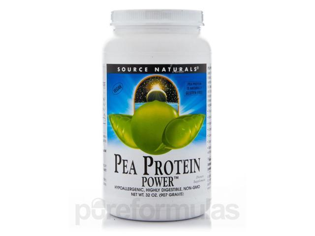 Pea Protein Power - 32 oz (907 Grams) by Source Naturals