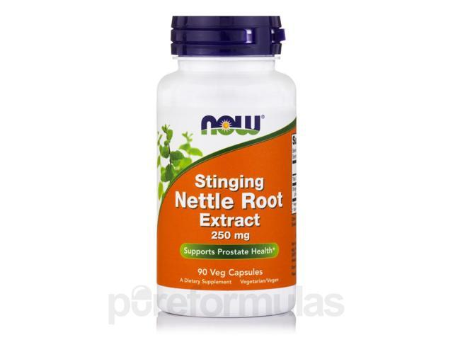 Nettle Root Extract (Stinging) 250 mg - 90 Vegetarian Capsules by NOW