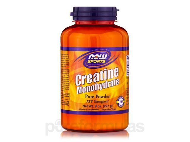 NOW? Sports - Creatine Monohydrate Powder - 8 oz (227 Grams) by NOW