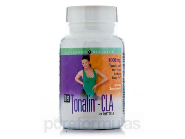 Diet Tonalin CLA 1000 mg - 30 Softgels by Source Naturals