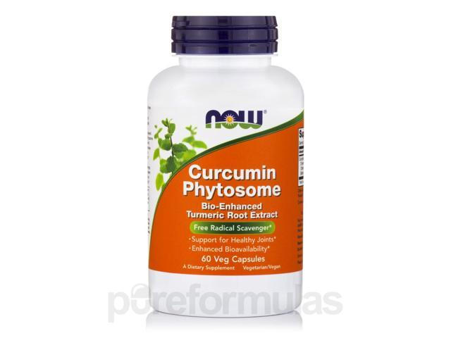 Curcumin Phytosome - 60 Vegetarian Capsules by NOW