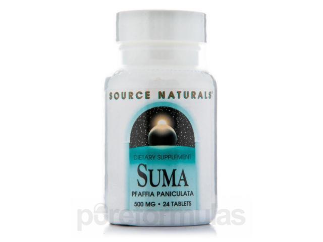 Suma 500 mg - 24 Tablets by Source Naturals