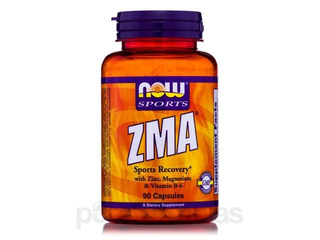 NOW Sports - ZMA Sports Recovery - 90 Capsules by NOW