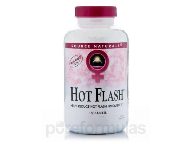 Hot Flash - 180 Tablets by Source Naturals