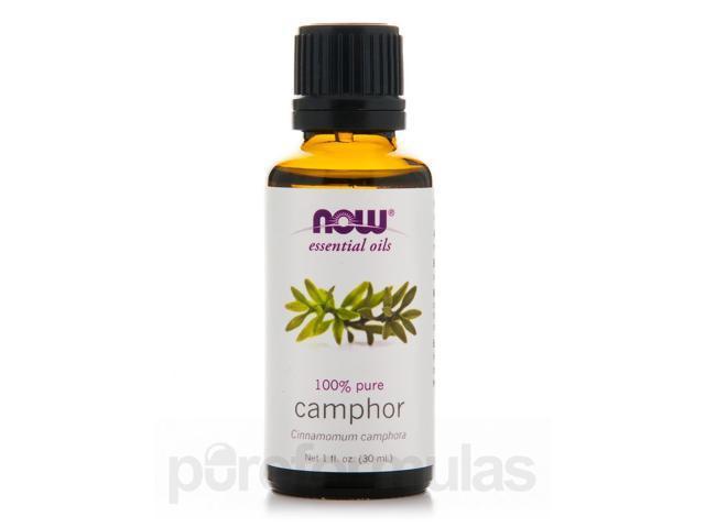 NOW Essential Oils - Camphor Oil - 1 fl. oz (30 ml) by NOW