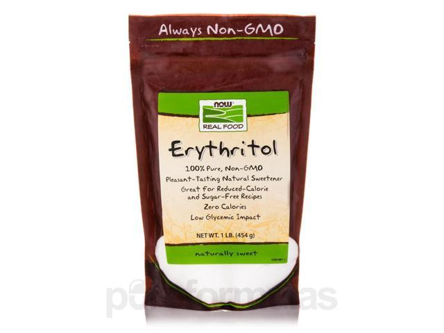 NOW Real Food - Erythritol Natural Sweetener - 1 lb (454 Grams) by NOW