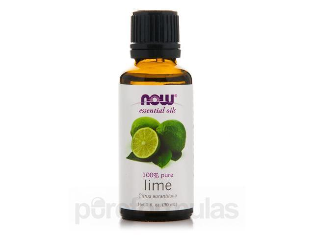 NOW Essential Oils - Lime Oil - 1 fl. oz (30 ml) by NOW