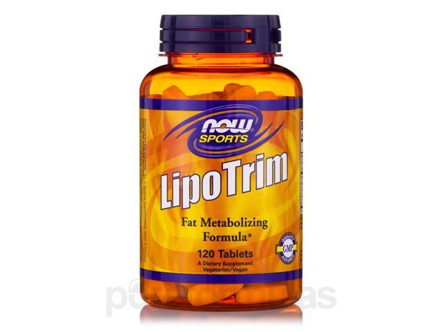 NOW? Sports - LipoTrim - 120 Tablets by NOW