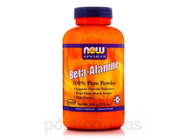 NOW Sports - Beta-Alanine Pure Powder - 17.6 oz (500 Grams) by NOW