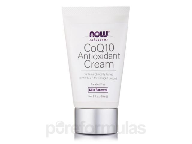 NOW? Solutions - CoQ10 Antioxidant Cream - 2 fl. oz (59 ml) by NOW