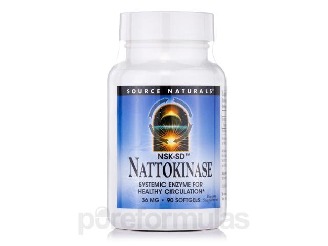 Nattokinase 36 mg - 90 Softgels by Source Naturals