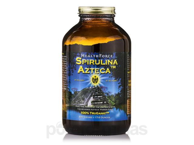 Spirulina Azteca? Powder - 17.6 oz (500 Grams) by HealthForce Nutritionals