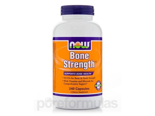 Bone Strength - 240 Capsules by NOW