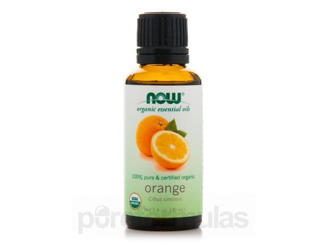 NOW Organic Essential Oils - Orange Oil - 1 fl. oz (30 ml) by NOW