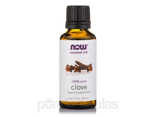 NOW Essential Oils - Clove Oil - 1 fl. oz (30 ml) by NOW