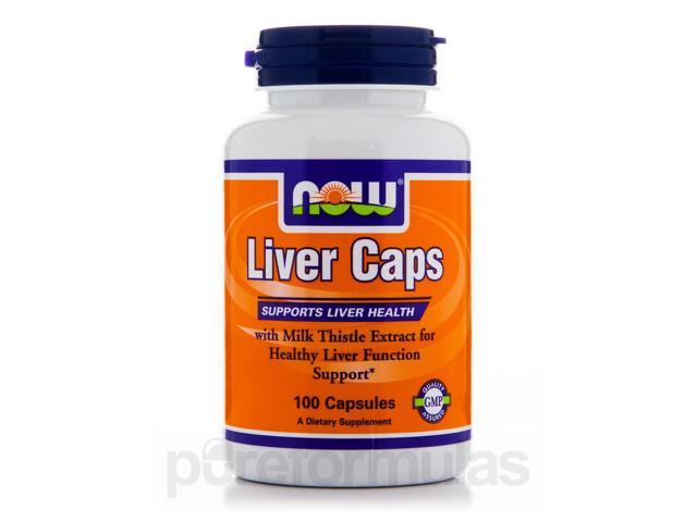 Liver Caps - 100 Capsules by NOW