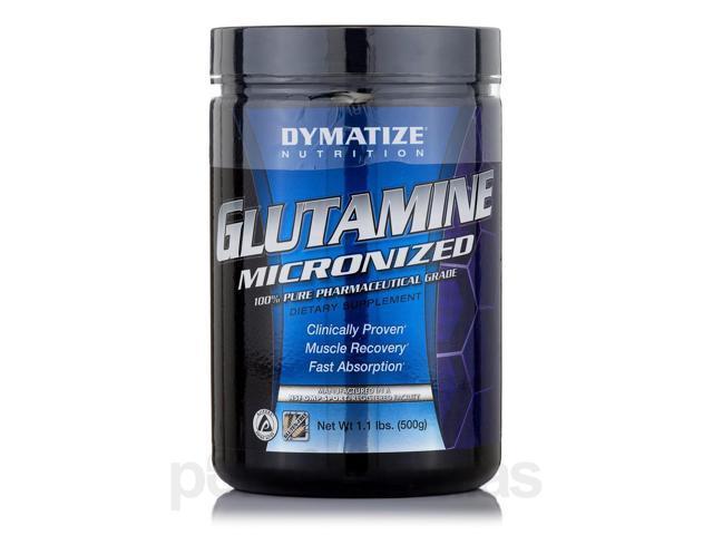 Glutamine Micronized - 1.1 lb (500 Grams) by Dymatize Nutrition