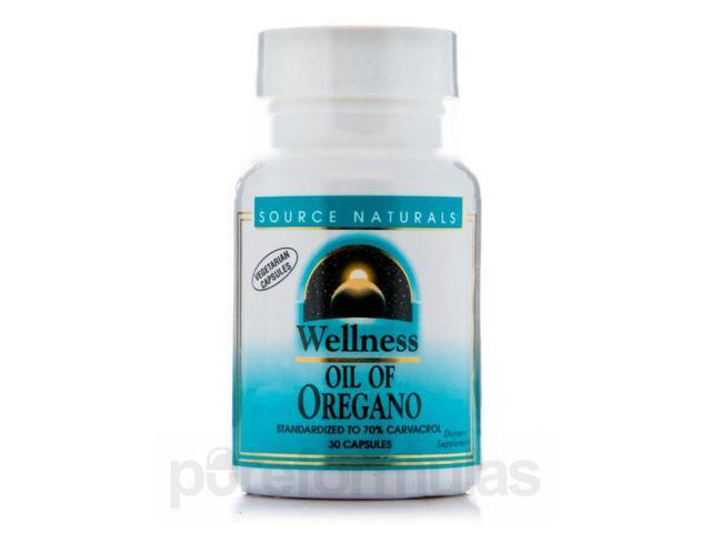 Wellness Oil of Oregano - 30 Capsules by Source Naturals