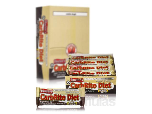 CarbRite Bar Cookie Dough - Box of 12 Bars by Universal Nutrition