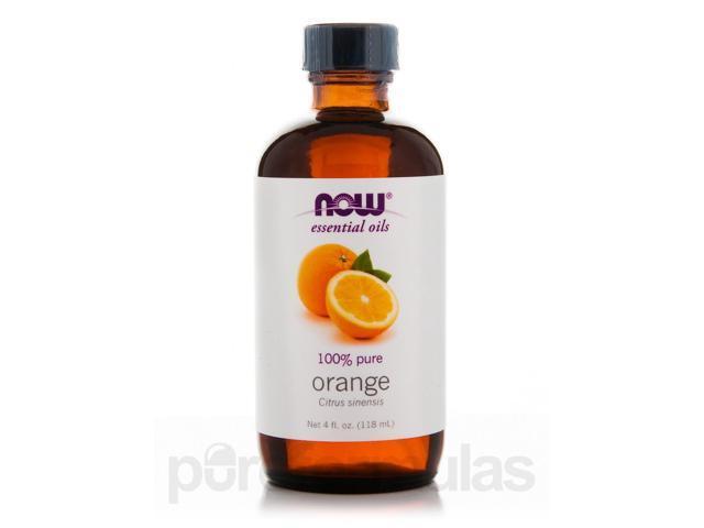 NOW? Essential Oils - Orange Oil - 4 fl. oz (118 ml) by NOW