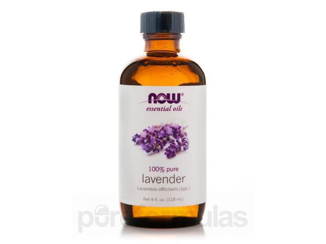NOW Essential Oils - Lavender Oil - 4 fl. oz (118 ml) by NOW