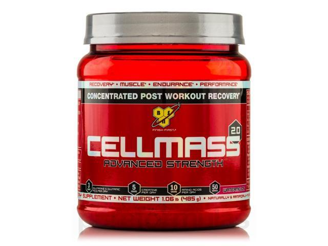Advanced Strength CellMass 2.0 Watermelon - 50 Servings (1.06 lb / 485 Grams) by