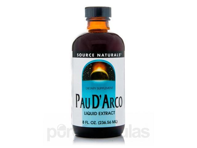 Pau D'Arco Liquid Extract - 8 fl. oz (236.56 ml) by Source Naturals