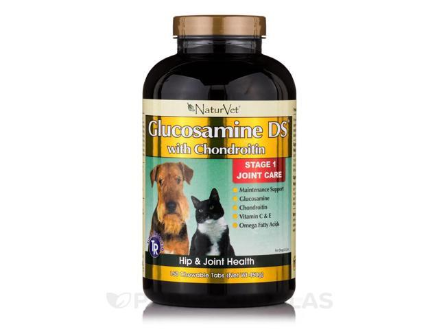 Glucosamine-DS Level 1 - Time Release - 150 Chewable Tablets by NaturVet
