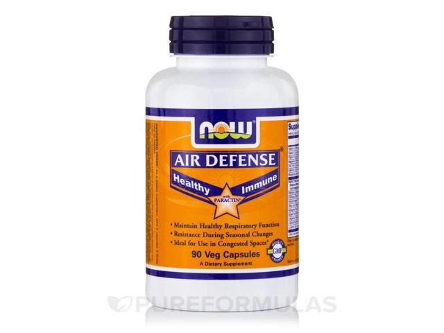 Air Defense with Paractin - 90 Veg Capsules by NOW