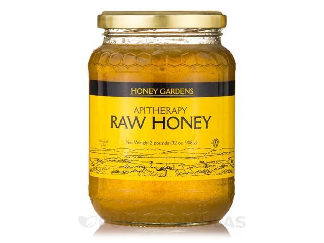 Raw Honey Northern - 2 lb (32 oz / 908 Grams) by Honey Gardens
