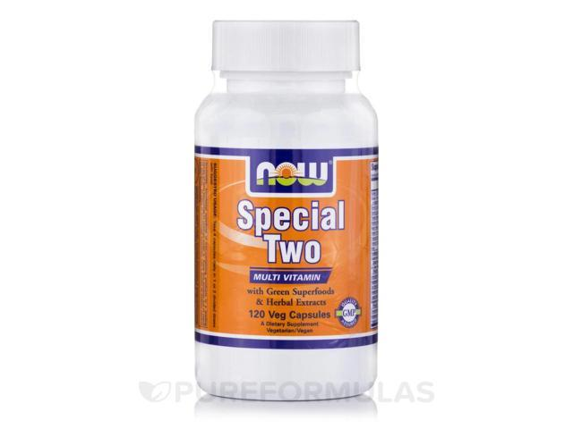 Special Two - 120 Veg Capsules by NOW