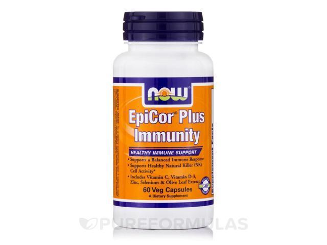 EpiCor Plus Immunity - 60 Vegetarian Capsules by NOW