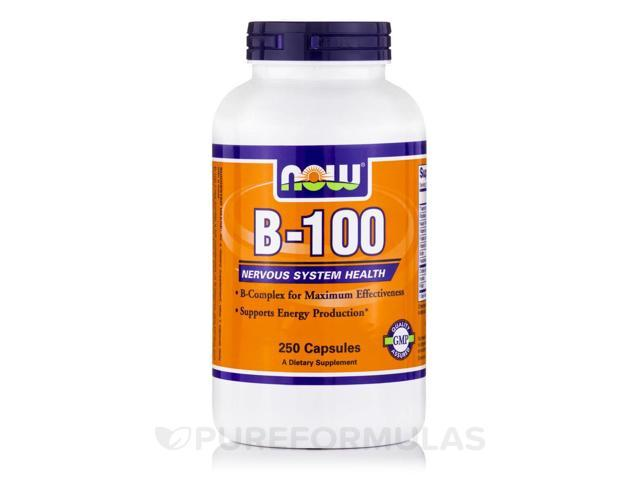 B-100 - 250 Veg Capsules by NOW