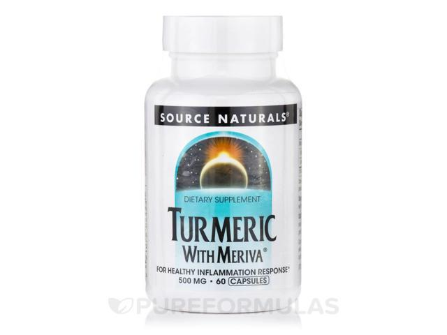 Turmeric with Meriva - 60 Capsules by Source Naturals