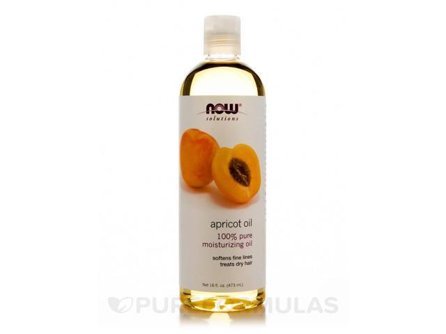 NOW Solutions - Apricot Oil - 16 fl. oz (473 ml) by NOW