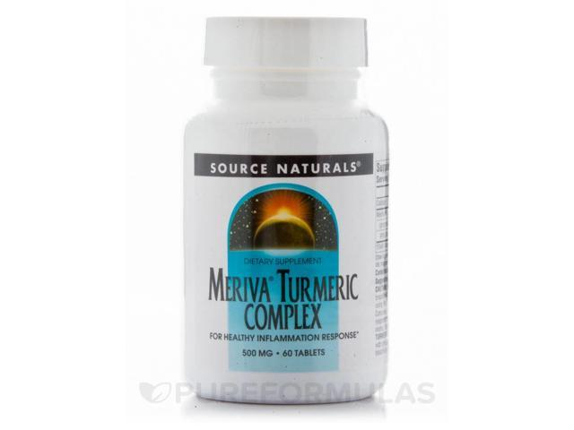 Turmeric with Meriva - 60 Tablets by Source Naturals