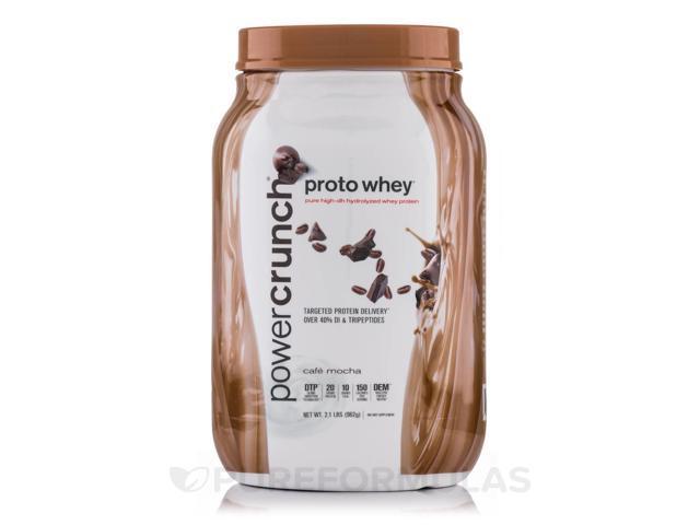 Proto Whey Protein Powder, Cafe Mocha - 2.1 lbs (962 Grams) by BioNutritional Re