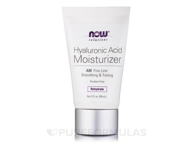 NOW Solutions - Hyaluronic Acid Moisturizer - 2 fl. oz (59 ml) by NOW