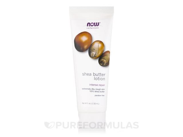 NOW Solutions - Shea Butter Lotion - 4 fl. oz (118 ml) by NOW