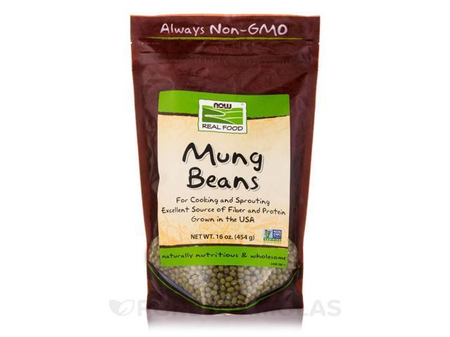 NOW Real Food - Mung Beans - 16 oz (454 Grams) by NOW