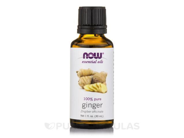 NOW Essential Oils - Ginger Oil - 1 fl. oz (30 ml) by NOW
