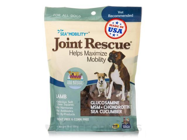 Sea Mobility Joint Rescue with MSM/Gluc/Sea Cucumber - Lamb Jerky - 9 oz (255 Gr